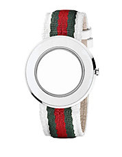 Ladies U Play Nylon Watch Strap and Bezel
