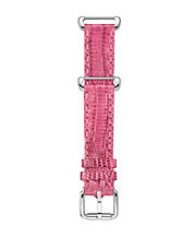 Ladies Pink Teju Leather Strap