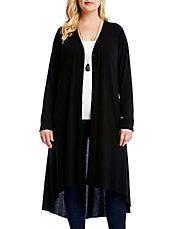 Plus Hi-Lo Duster Cardigan