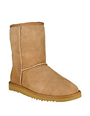 Ladies Classic Short Sheepskin Lined Boots