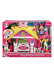 Disney Minnie Mouse Jump N Style Pony Stable