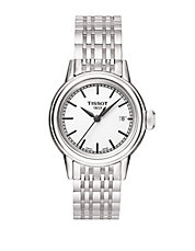 Ladies Carson Stainless Steel Watch