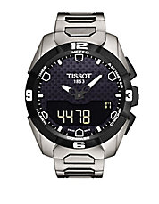 Mens T Touch Solar Chronograph Watch