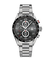 Carrera Stainless Steel Chronograph Watch