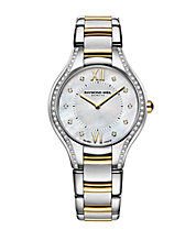 Ladies Two-Tone Diamond Watch