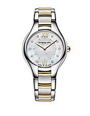 Ladies Noemia Two Tone and Diamond Watch