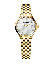 Ladies Toccata Goldtone and Diamond Watch