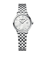 Ladies Toccata Silvertone and Diamond Watch