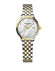 Ladies Toccata Silver and Goldtone Diamond Watch
