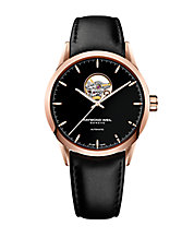 Mens Freelancer Watch with Leather Strap