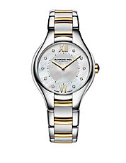 Ladies Noemia Two-Tone Watch with Diamonds