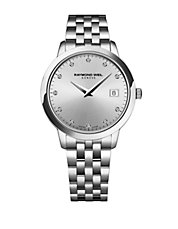Tocatta Collection, Stainless Steel Diamond Accented Watch