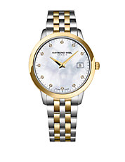 Tocatta Collection, Two Tone Stainless Steel and Yellow Gold Watch