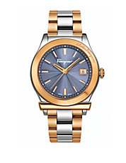 Mens 1898 Two-Tone Stainless Steel Bracelet Watch
