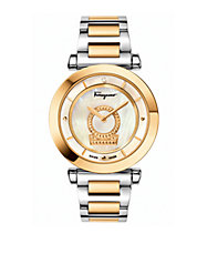 Ladies Minuetto Diamond and Two-Tone Stainless Steel Bracelet Watch