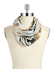 Floral Shadowed Scarf