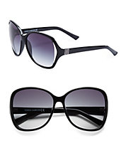 66mm Square Sunglasses