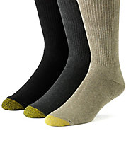 8-Pack Assorted Crew Socks
