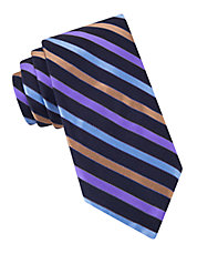 Ground Striped Tie