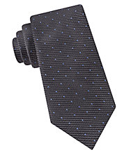 Textured Pin Dot Tie