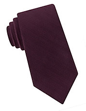 Chevron Silk And Wool Tie