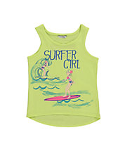 Girls 2-6x Surfer Girl Tank