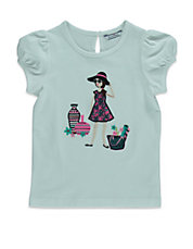 Girls 2-6x  Cotton Jersey T-Shirt