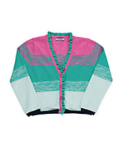 Girls 2-6x Slub Cardigan Sweater