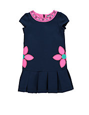 Girls 2-6x Knit Ponte Dress