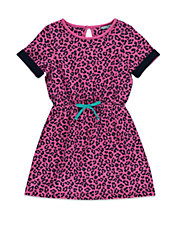 Girls 2-6x Leopard Printed Dress