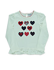 Girls 2-6x Heart Print Tunic