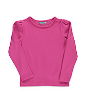 Girls 2-6x Girls 2-6x Ruched Cotton Top