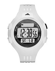 Mens Questra White Digital Chronograph Sport Watch