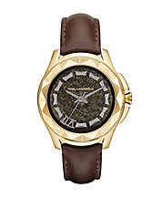 Ladies Karl 7 Watch with Leather Strap