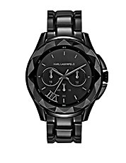 Karl 7 Black Chronograph Watch