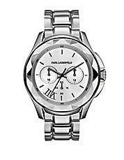 Karl 7 Stainless Steel Chronograph Watch