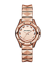Karl 7 Rose Gold-Tone Watch
