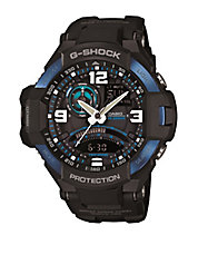 Mens G-Aviation Black and Blue Watch