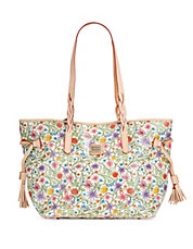 Bailey Sketched Floral Shopper