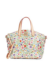 Eva Floral Satchel Bag