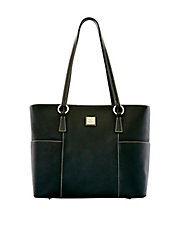 Pebbled Leather Shopper Bag