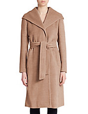 Bettina Belted Wrap Coat