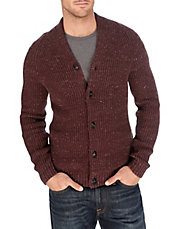 Clyde Ribbed Knit Cardigan