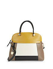 Piper Leather Dome Bag