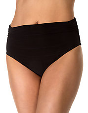Shirred Jersey Swim Bottom Briefs