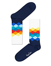 Diamond Crew Socks