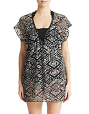 African Beat Printed Tunic Cover Up