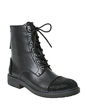 Wendy Military Lace-Up Boots