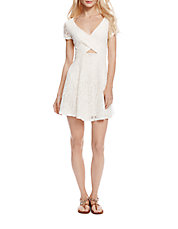 Kaitlee Lace Fit and Flare Dress