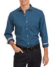 Slim Fit Wrinkle Resistant Plaid Shirt